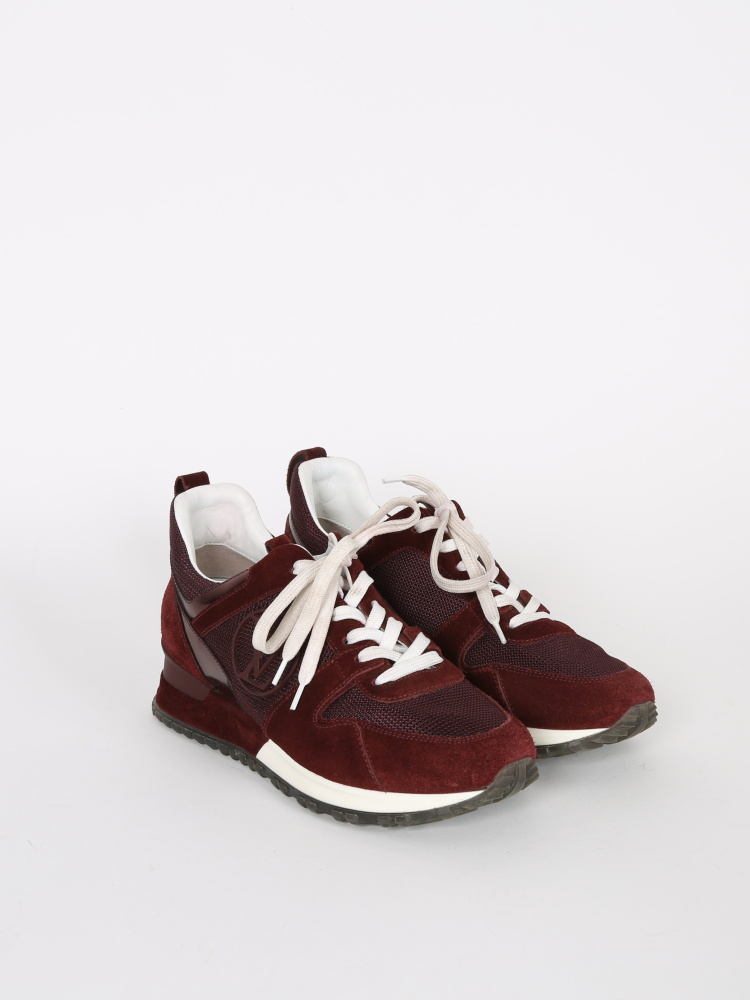 Run away sneaker louis vuitton bordeaux