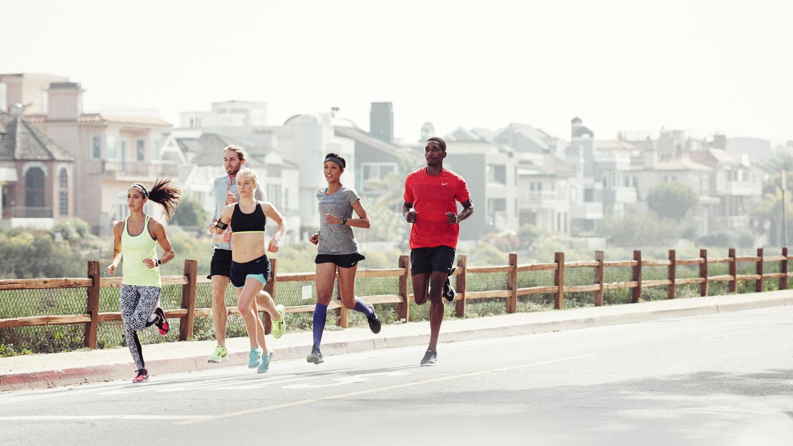 Nike running nyc club