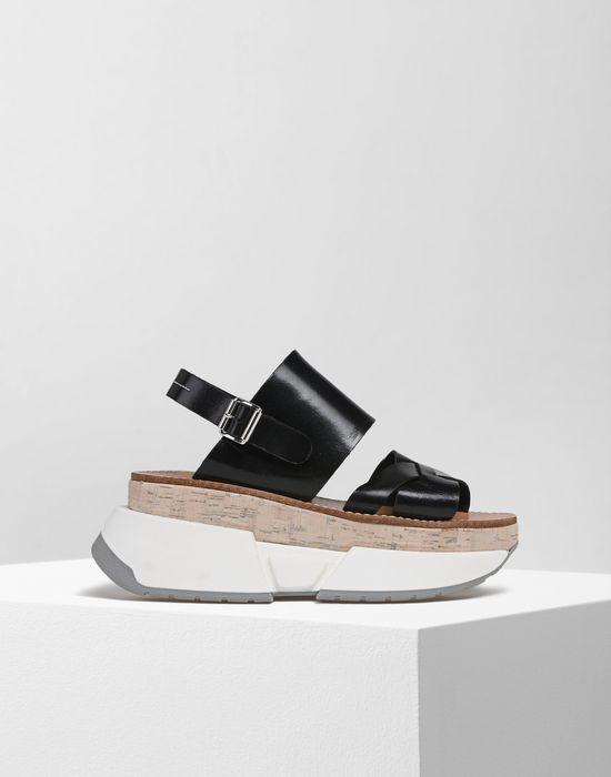 Sandale femme semelle caoutchouc