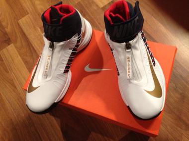 Nike sneaker zipper