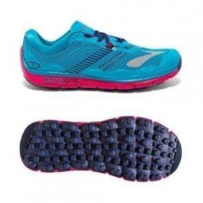 Chaussures de running wave ultima 5 - noir et rose