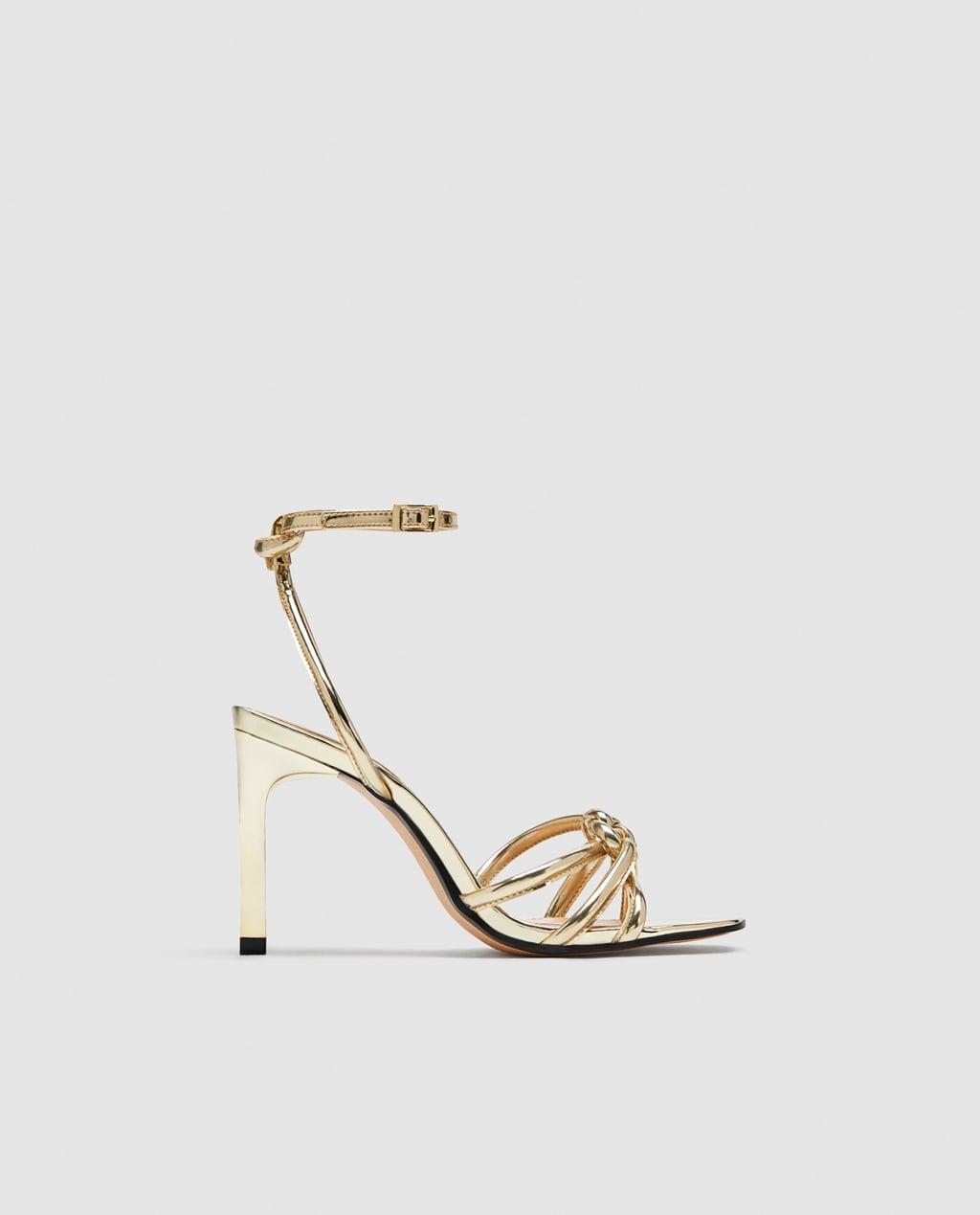 Sandale paillette femme zara