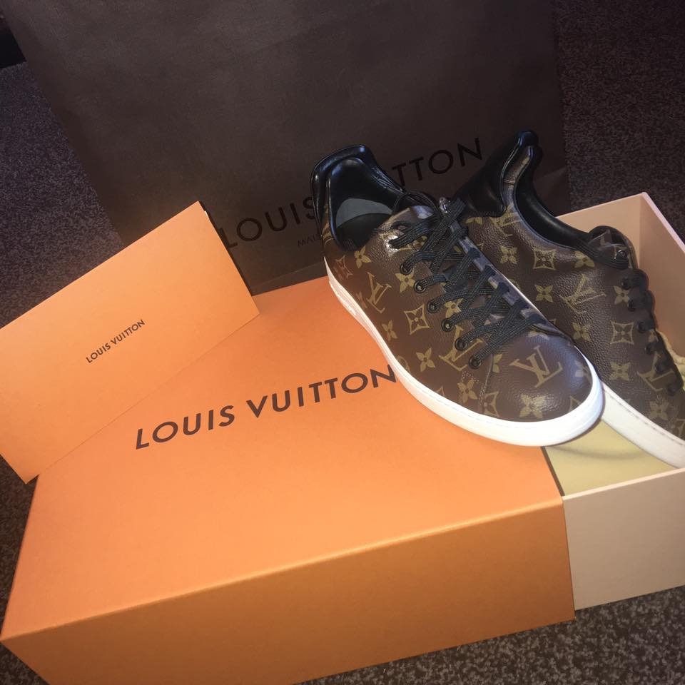 Louis vuitton sneakers unboxing