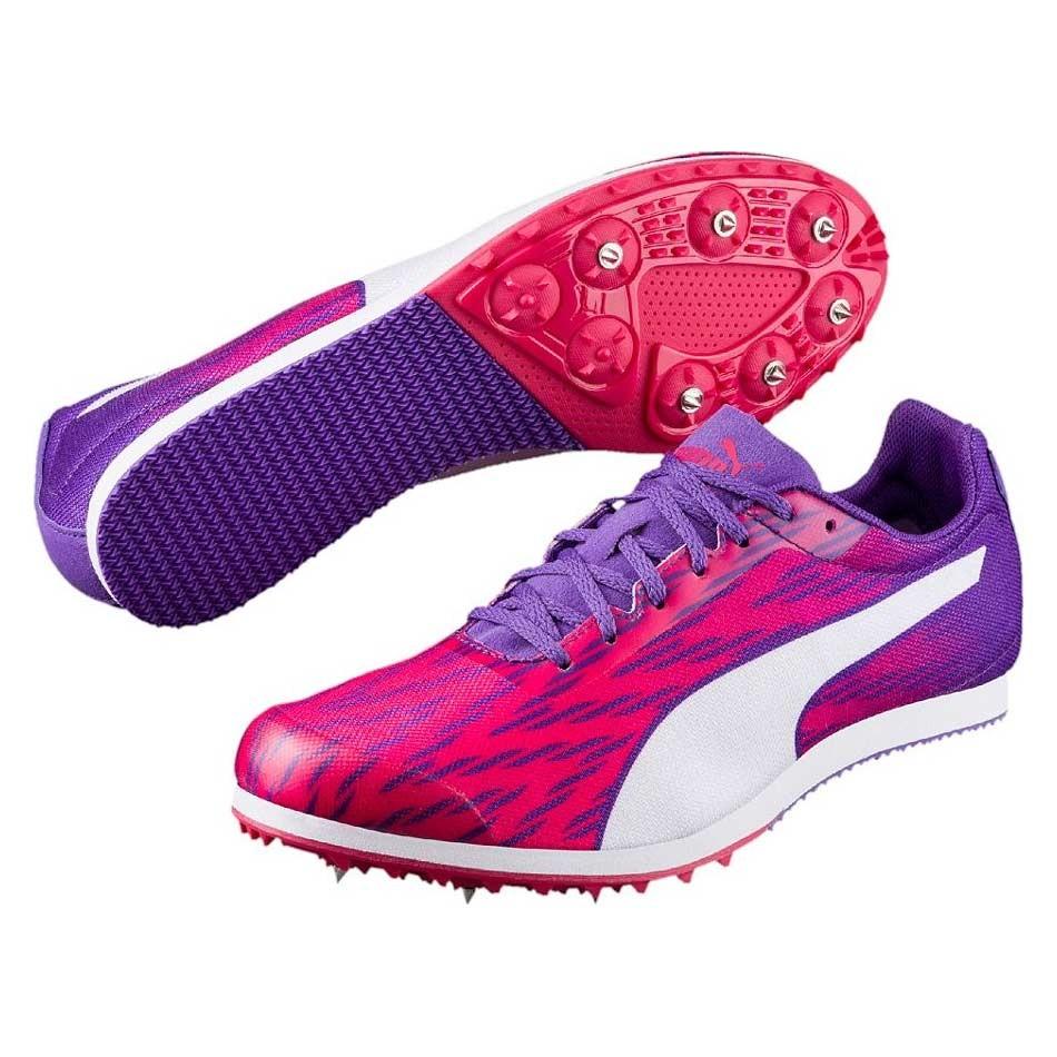 Chaussures running femme athlétisme pointes