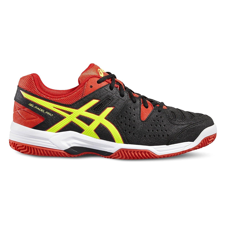 Chaussure running asics rouge