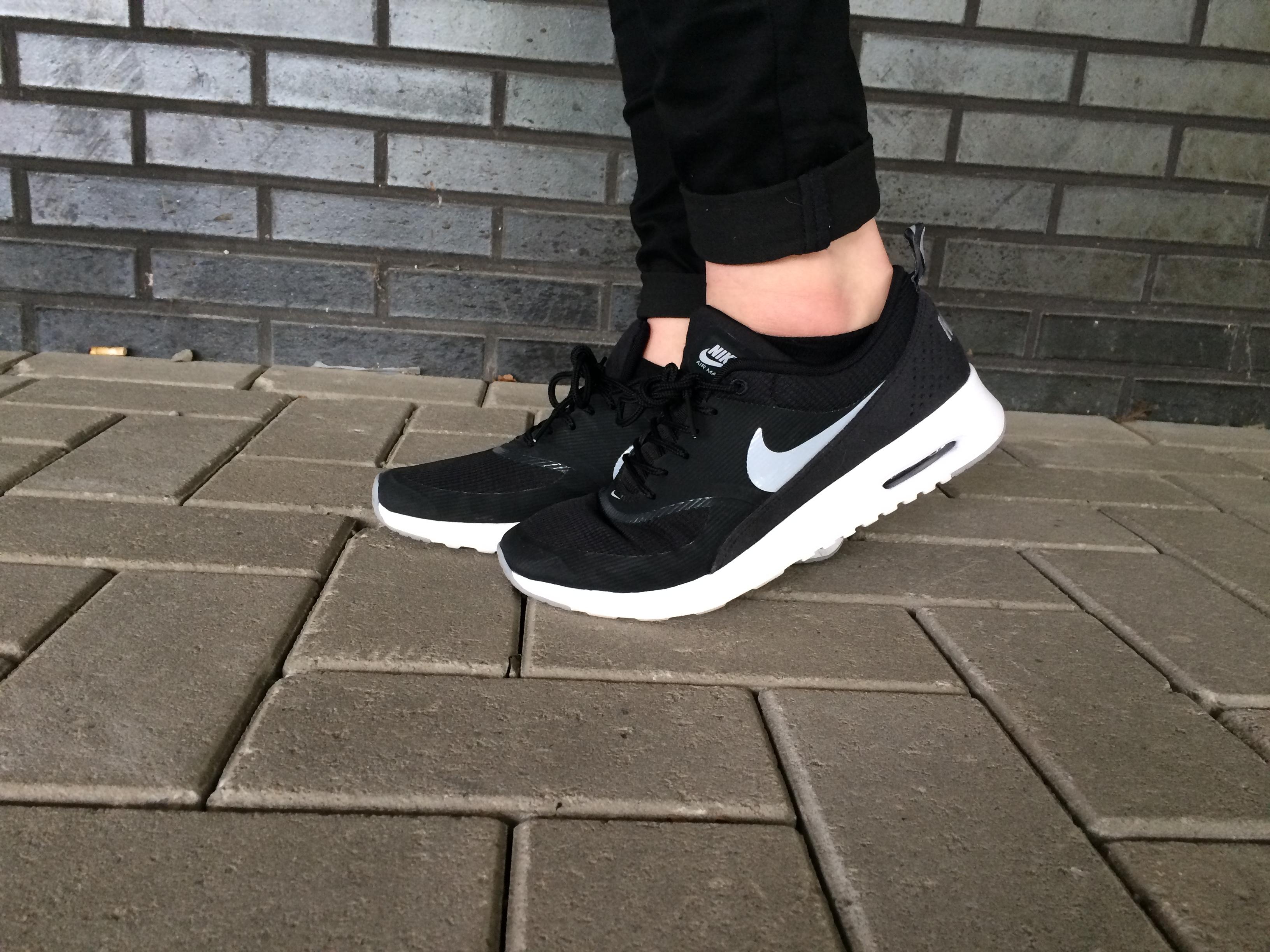 Nike sneakers vallen klein