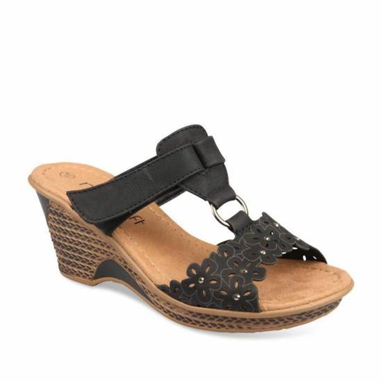 Sandales plates femme confortables