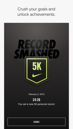 Nike running wont connect to facebook