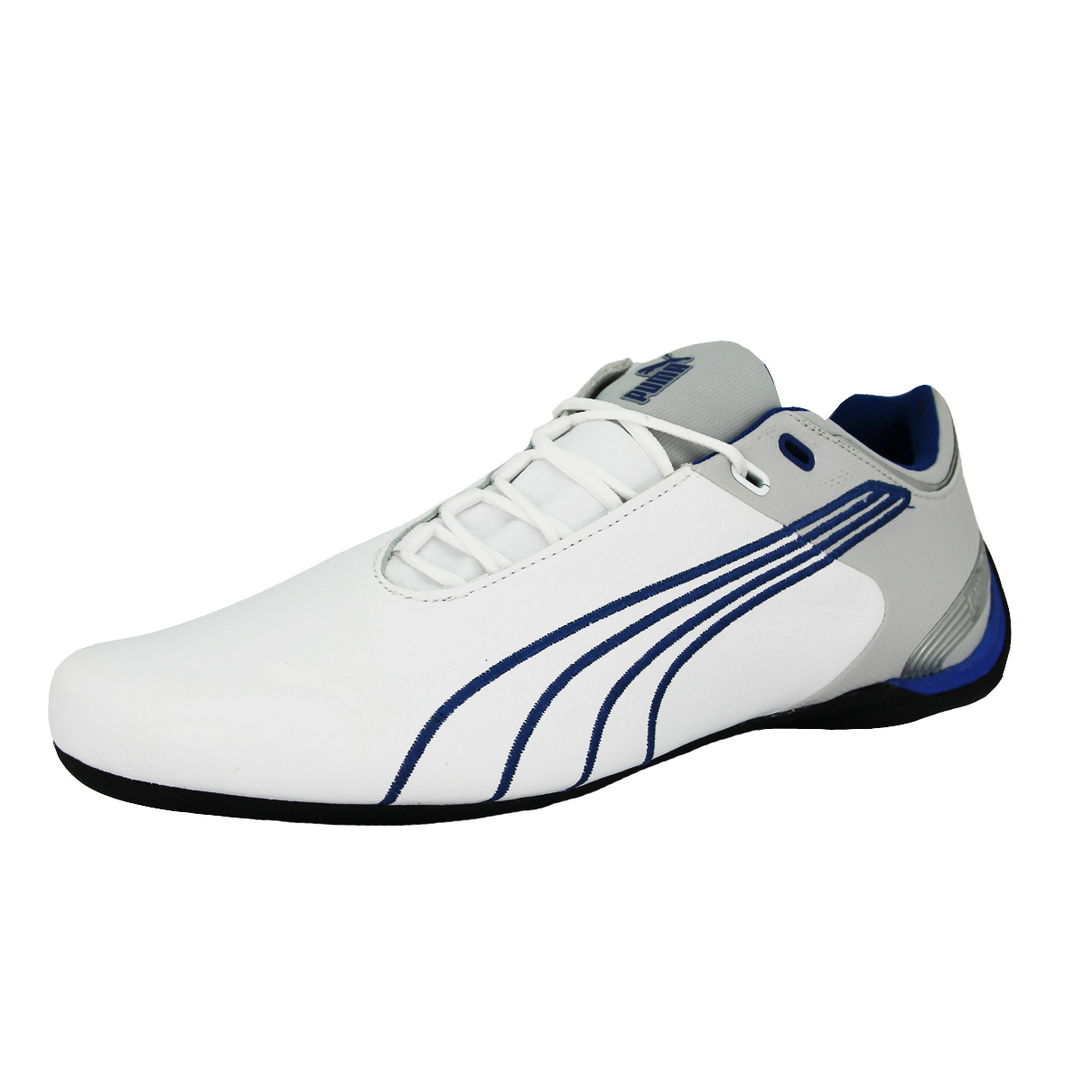 Sneakers homme cuir bleu