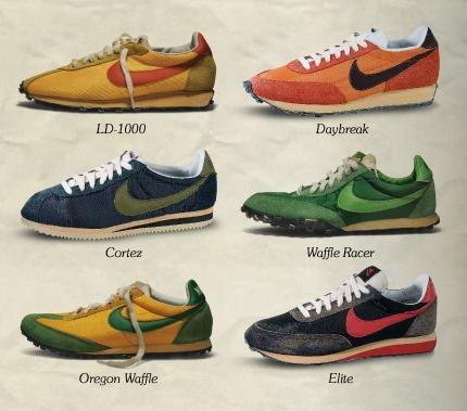 Nike sneakers old models