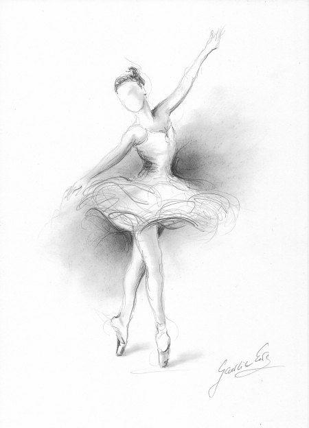 Ballerine dessin