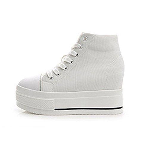 Sneakers femme talon caché