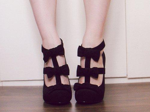 Chaussure a talon compensé pour fille