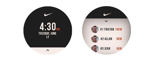 Nike running moto 360
