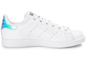 chaussure adidas stan smith irisé femme