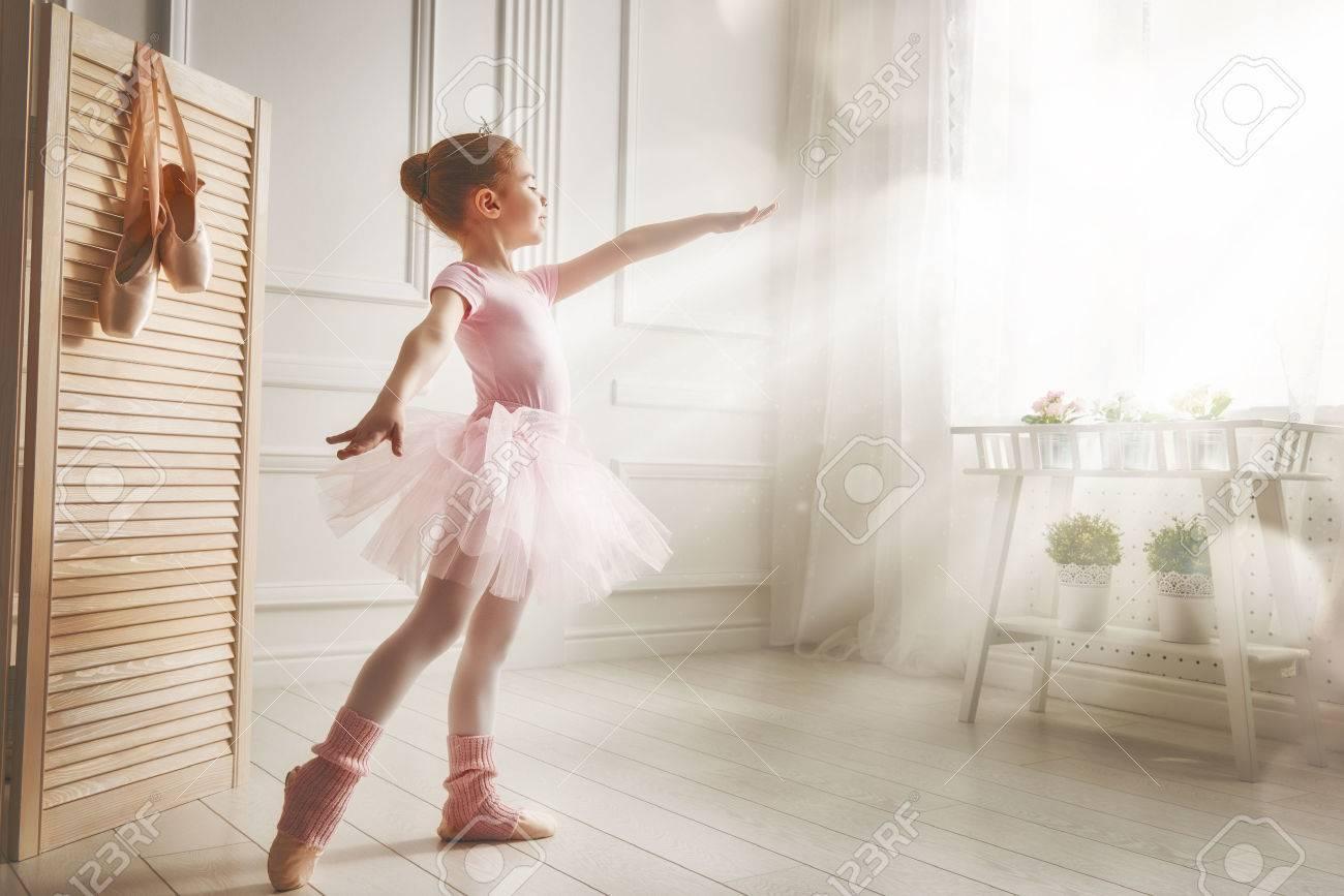 Ballerine fille danse