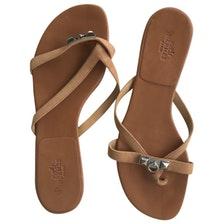 Sandale femme haute