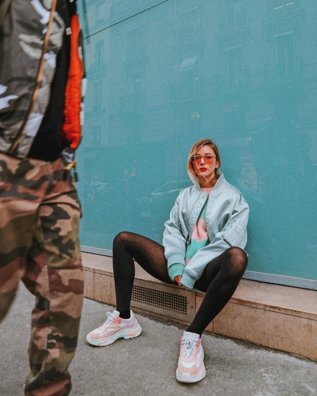 Sneakers addict femme blog