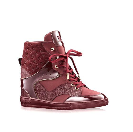 Louis vuitton sneakers bordeau