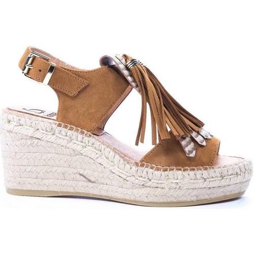 Chaussures compensées femme spartoo