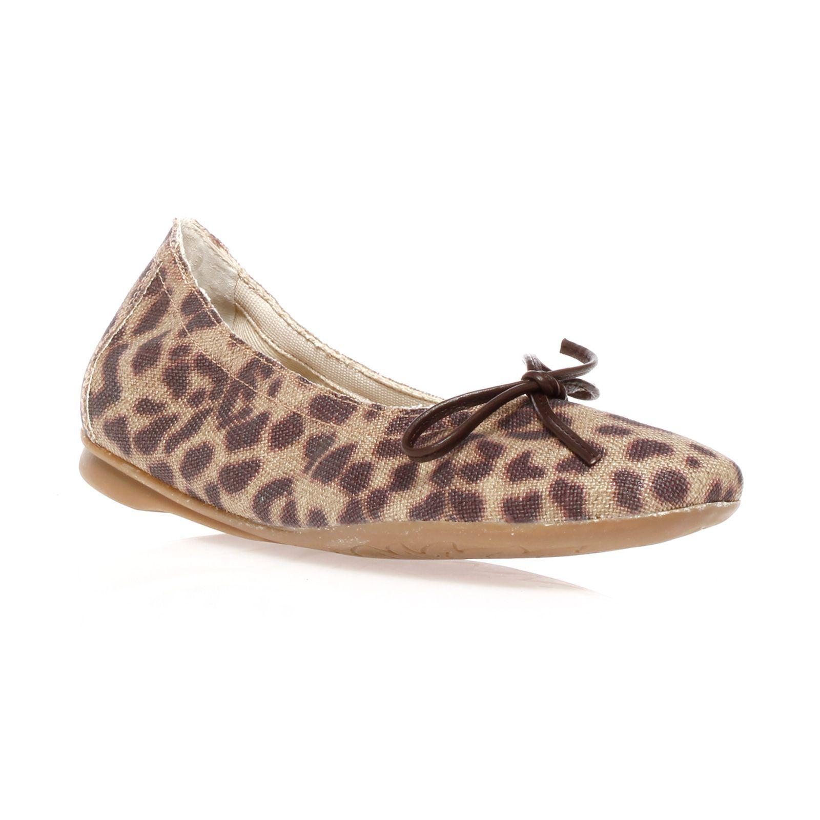 Ballerines reqins leopard