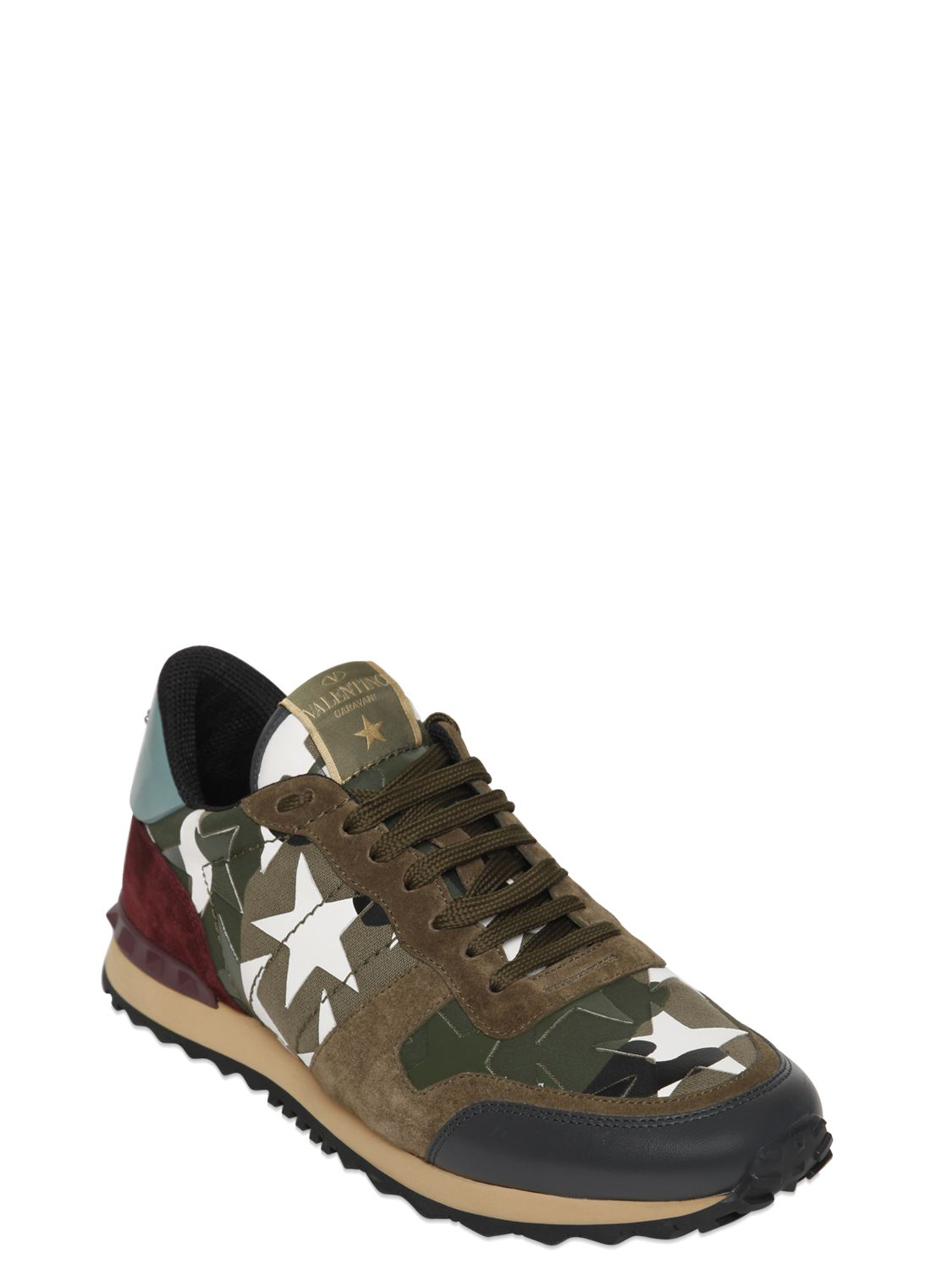 Sneakers valentino homme camouflage