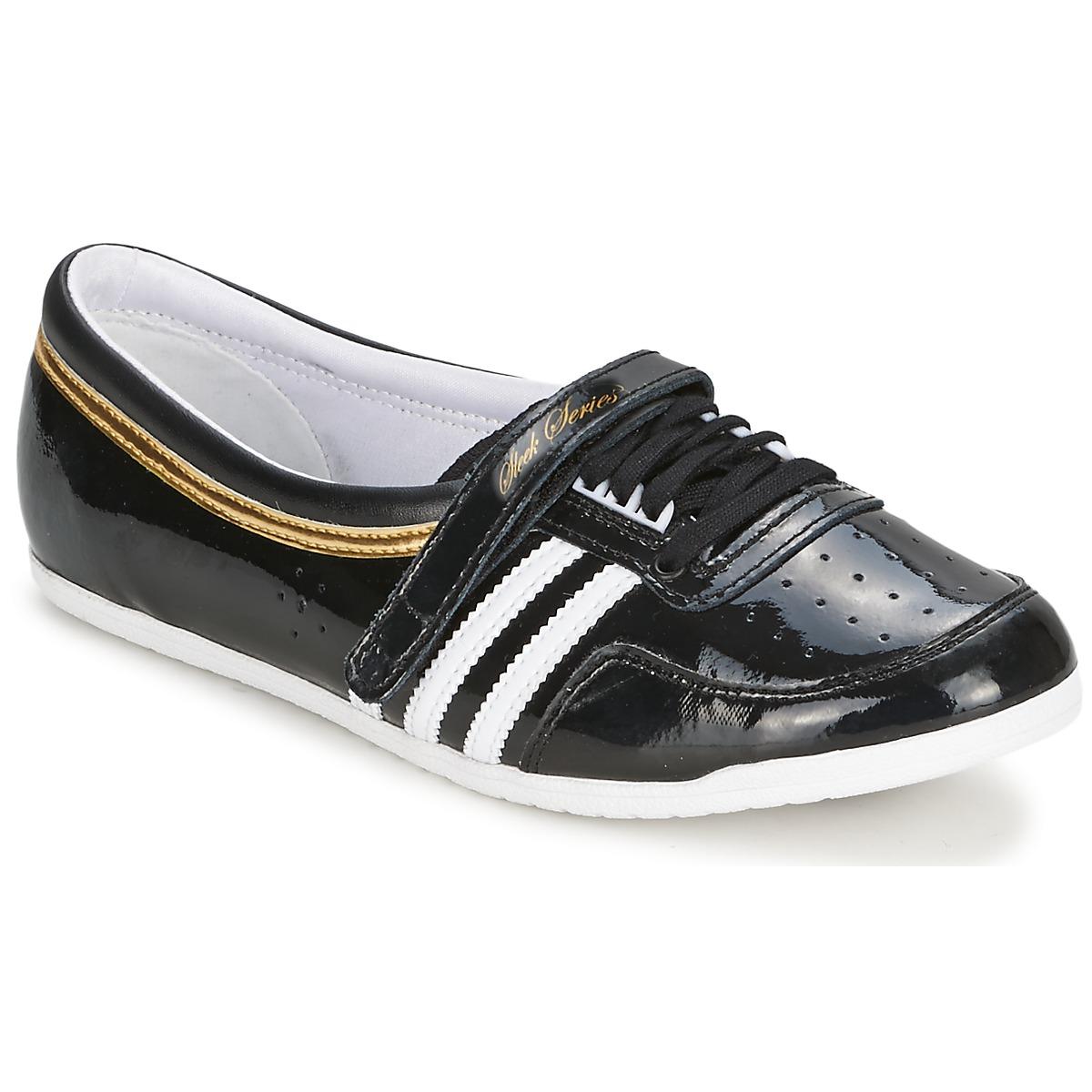 noir Ballerine basket adidas Chaussure lescahiersdalter femme 77YPOtq 724763d68c93