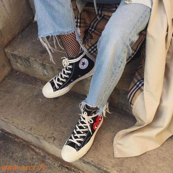 Lescahiersdalter Converse Femme Converse Chaussure Porté qMVSzUGp