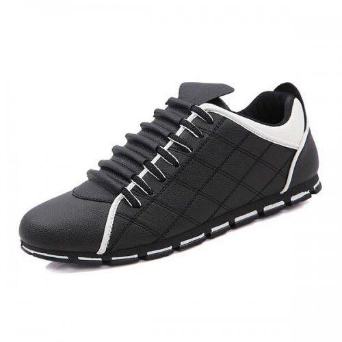 Sneakers noir homme luxe
