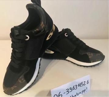 Louis vuitton sneakers zwart dames