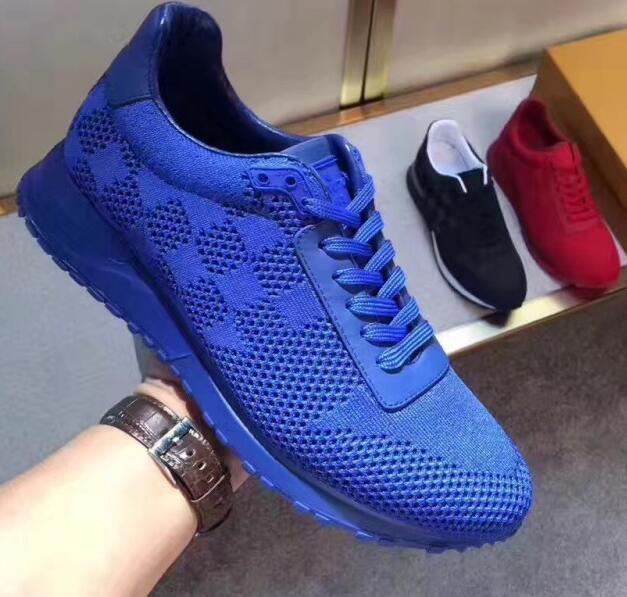 Run away sneaker louis vuitton blue - Chaussure - lescahiersdalter 59f6ccde0a6