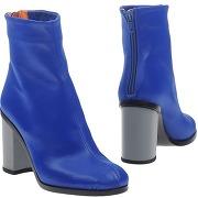 Bottines bleues femme