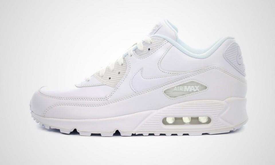 Chaussure running blanche