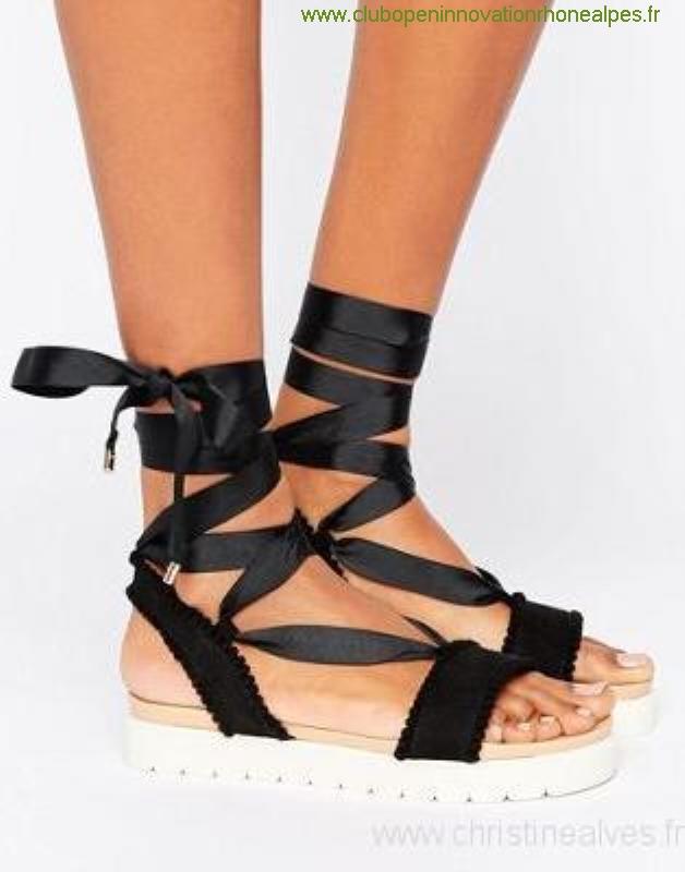 Sandale plate femme nike