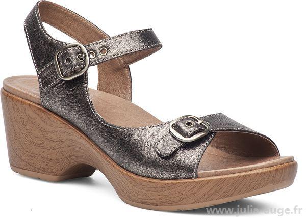 Sandale femme avec voute plantaire