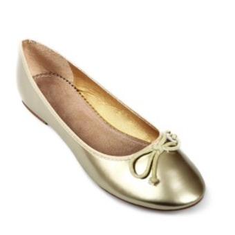 0e0466d8045e4 Ballerine dorée fille - Chaussure - lescahiersdalter