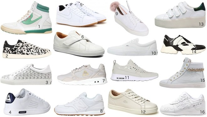 Sneakers homme tendance 2016