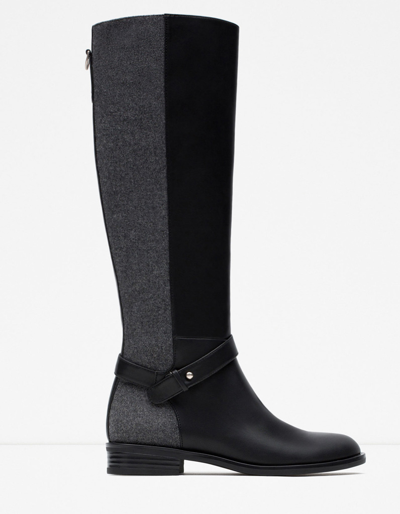botte femme 2016 zara - chaussure - lescahiersdalter