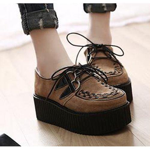 Chaussure compensée confort