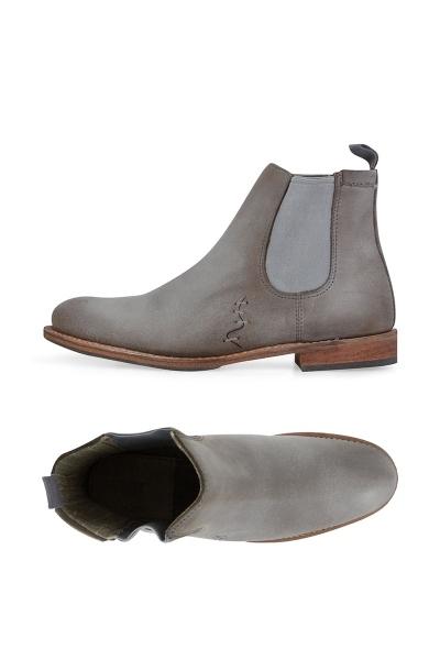 Boots femme grise