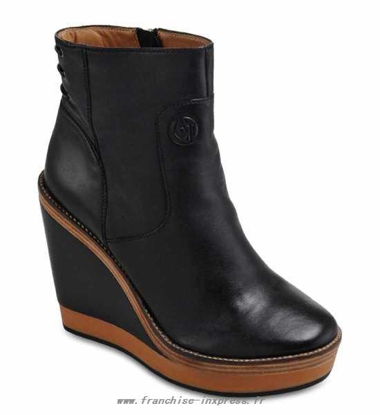 Armani chaussure femme compensée