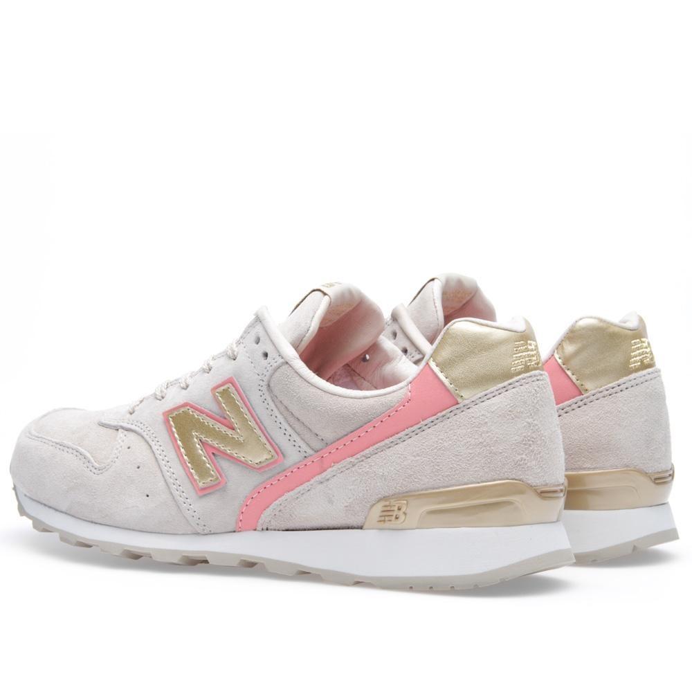 Chaussures running femme wr 750 rose new balance