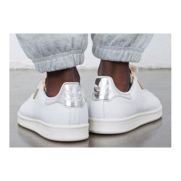 design de qualité 9350c ea69e Stan smith femme metallic - Chaussure - lescahiersdalter