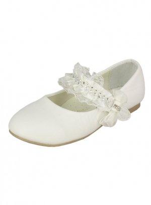 Ballerine fille blanche