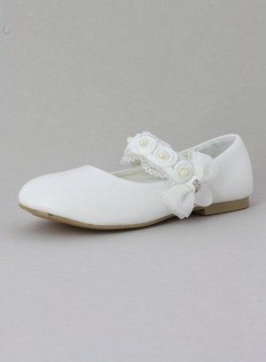 Ballerine blanche ceremonie