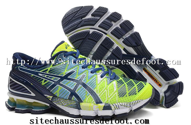 Chaussure asics running homme