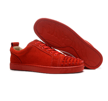 Sneaker rouge homme