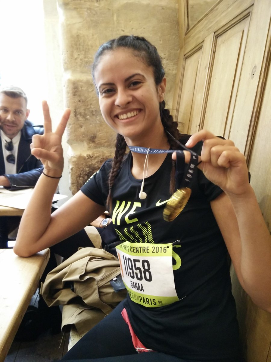 Nike running paris 7 octobre