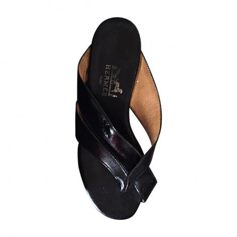 Sandales plates femme hermes