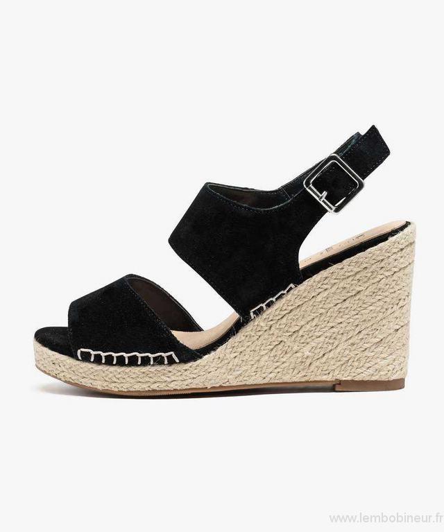 Sandale compensée femme gemo